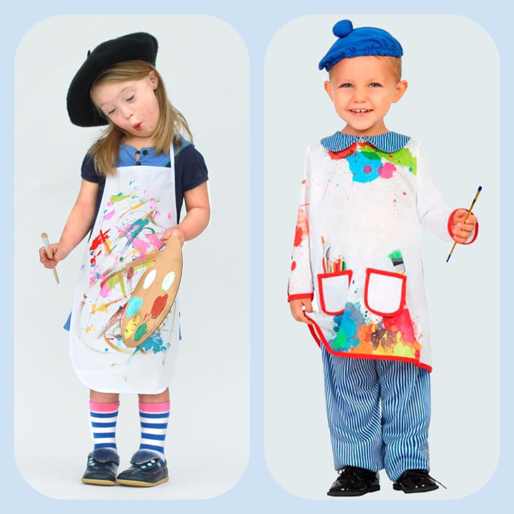 Фартуки для детского творчества