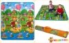 Детский двусторонний коврик Limpopo Солнечный день и Цветные циферки 150х180см (LP003-150) 0