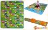 Детский двусторонний коврик Limpopo Солнечный день и Цветные циферки 150х180см (LP003-150) 2