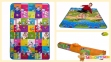 Детский двусторонний коврик Limpopo Мишки и Прогулка с друзьями 120х180см (LP002-120) 0