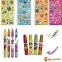 Ароматный набор для творчества Scentos Забавная компания (маркеры, воск.карандаши, наклейки, раскраска) 42135 0