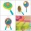 Игровой набор Battat Пляжный теннис Два-в-одном BX1526Z (ракетки с присосками, мячик) 0
