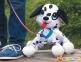 Интерактивная игрушка Peppy Pets Веселая прогулка Далматинец 28 см (245284) 2