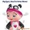 Интерактивная кукла Tiny Toes ГАББИ ПАНДА 2