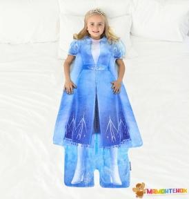 Плед-платье BLANKIE TAILS серии Disney Холодное сердце Эльза BT0091-B