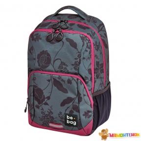 Рюкзак Herlitz Be.Bag be.freestyle Romantic Flowers сіро-рожевий