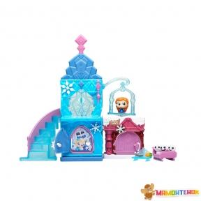 Игровой набор Disney Doorables БОЛЬШОЙ ЗАМОК ЭЛЬЗЫ (1 герой, замок, домик, аксессуары) 69408