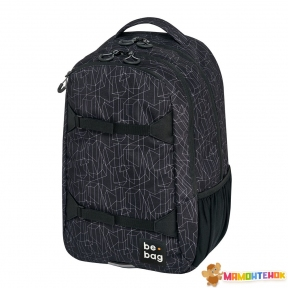 Рюкзак Herlitz Be.Bag be.explorer Geo Lines чорний