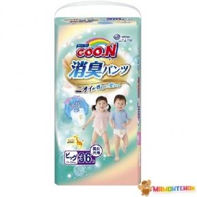 Трусики-подгузники GOO.N серии AROMAGIC DEO PANTS для весом детей 12-20 кг (р.Big(XL), унисекс, 36 шт.) 853112