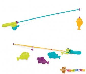 Игровой набор Battat Lite Магнитная рыбалка (2 удочки, 4 рыбки)