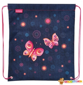 Сумка для обуви Herlitz Sport bag Butterfly Dreams