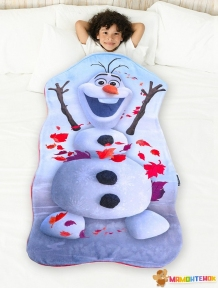Плед-спальник BLANKIE TAILS серии Disney Холодное сердце Олаф BT0092-B
