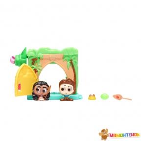 Игровой набор Disney Doorables МОАНА (2 героя, домик, аксессуар) 69415