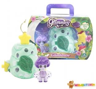 Игровой набор Glimmies S1 Домик Бабочки (с мерцающей фигуркой) GLM03400/UA