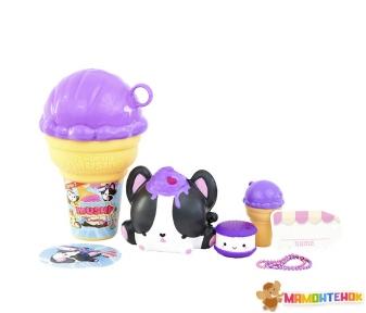 Набор ароматных игрушек-антистресс Smooshy Mushy Сквиш-Мякиш серии Мороженое (174930-R3)