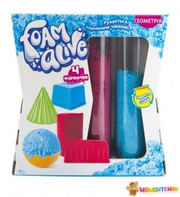 Набор с воздушной пеной для детского творчества FOAM ALIVE Геометрия 5905