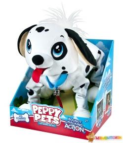 Интерактивная игрушка Peppy Pets Веселая прогулка Далматинец 28 см (245284)