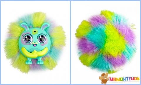 Интерактивная игрушка Tiny Furries ПУШИСТИК ГРИНИ (звук) 83690-GR