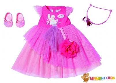 Набор одежды для куклы BABY BORN Пышное платье 827178