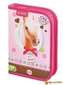 Пенал Herlitz Pretty Pets Horse