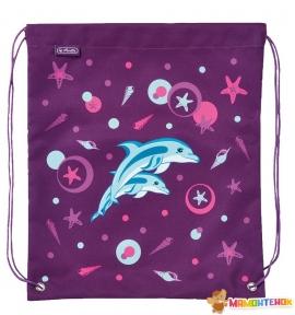 Сумка для обуви Herlitz Sport bag Dolphin