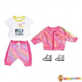 Набор одежды для куклы BABY BORN Трендовый розовый 828335