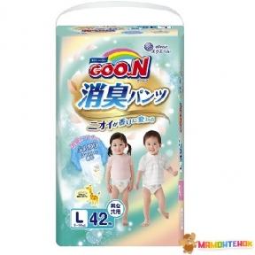 Трусики-подгузники GOO.N серии AROMAGIC DEO PANTS для детей весом 9-14 кг (размер L, унисекс, 42 шт) 853111