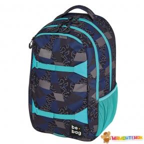 Рюкзак Herlitz Be.Bag be.explorer Edgy Labyrinth синьо-блакитний
