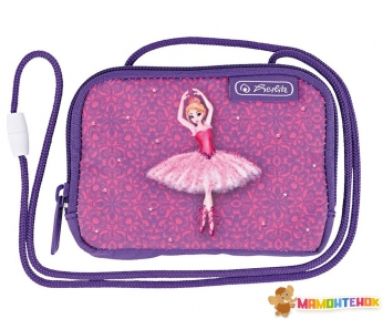 Кошелек детский Herlitz Neck pouch Ballerina