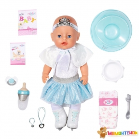 Кукла Zapf серии Нежные объятия БАЛЕРИНКА-СНЕЖИНКА (43 см, с аксессуарами) 831250