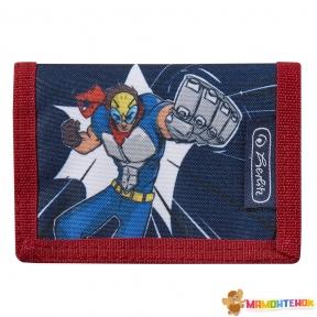 Кошелек детский Herlitz Portmone Super Hero Супергерой (50021376S)