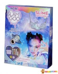 Набор для юного дизайнера слайм-аксессуаров Glam Goo Галактический блеск 560111