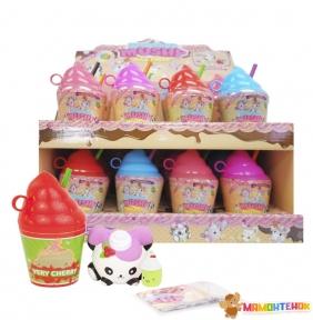Набор ароматных игрушек-антистресс Smooshy Mushy Сквиш-мякиш серии Стаканчик Смузи S2 (174933-R2N)