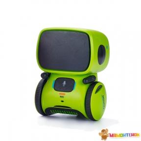 Интерактивный робот с голосовым управлением AT-ROBOT (зелёный) AT001-02