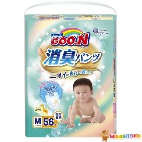 Трусики-подгузники GOO.N серии AROMAGIC DEO PANTS для детей весом 7-12 кг (размер M, унисекс, 56 шт) 853110