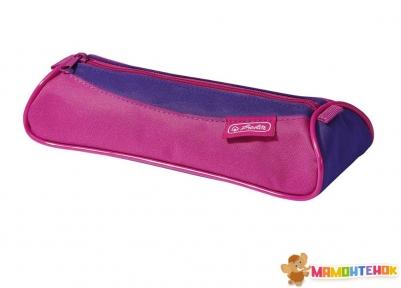 Пенал Herlitz Twist Pink Purple (50022885)