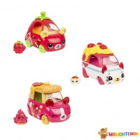 Набор мини-машинок Shopkins Cutie Cars S3 Итальянские приключения ( 3 машинки с мини-шопкинсами) 57137
