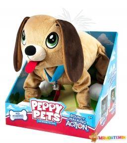 Интерактивная игрушка Peppy Pets Веселая прогулка Бассет 28 см (245277)