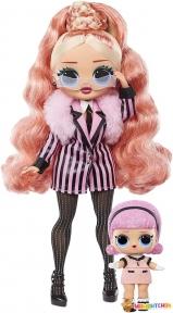 Игровой набор с куклой L.O.L. SURPRISE! серии O.M.G Winter Chill ЛЕДИ-СТАЙЛ 570264