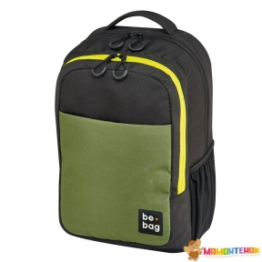 Рюкзак Herlitz be.bag be.clever Black&Olive чорно-оливковий
