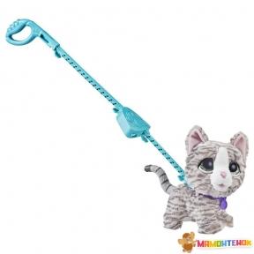 Интерактивная игрушка FurReal Friends Большой питомец Кошка на поводке E3504/E4781