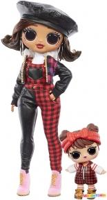 Игровой набор с куклой L.O.L. SURPRISE! серии O.M.G Winter Chill ОЧАРОВАШКА 570257