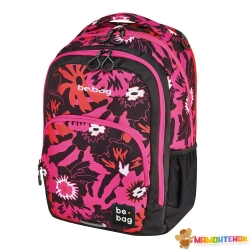 Рюкзак Herlitz Be.Bag be.ready Pink Summer чорно-рожевий