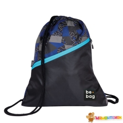 Сумка для взуття Herlitz be.bag be.daily Edgy Labyrinth синя