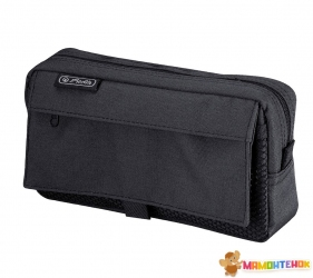 Пенал Herlitz Pockets Black