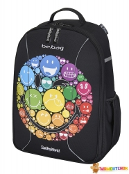 Рюкзак школьный Herlitz Be.Bag AIRGO Smileyworld Rainbow