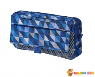 Пенал Herlitz Pockets Cubes Blue синий (50022052)