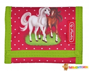 Кошелек детский Herlitz Children's purse Horses