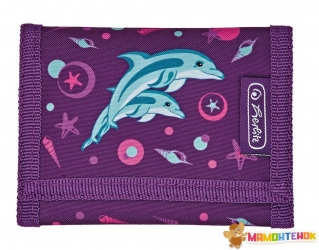 Кошелек детский Herlitz Children's purse Dolphin