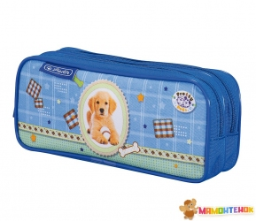Пенал Herlitz Double Pretty Pets Dog